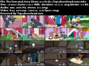 دانلود فصل اول انیمیشن تام و جری The Tom and Jerry Show 2014 | تاپ 2 دانلود