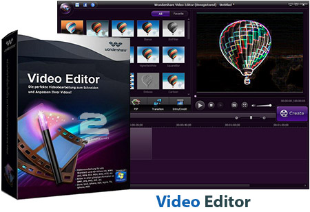 Wondershare Video Editor | تاپ 2 دانلود