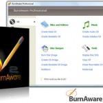 دانلود نرم افزار رایت انواع دیسک نوری BurnAware Professional 6.9.4