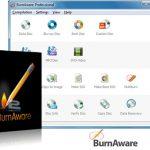 دانلود نرم افزار رایت دیسک BurnAware Premium 7.7