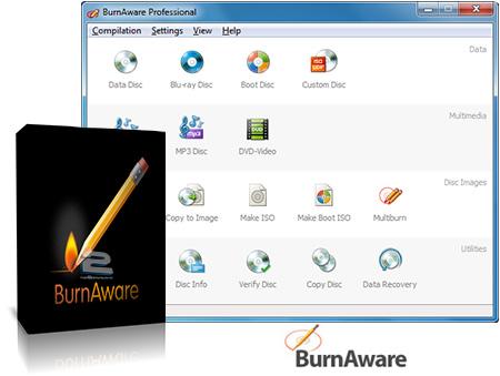 BurnAware Professional | تاپ 2 دانلود