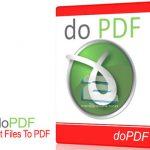 دانلود نرم افزار تبدیل فایل های به پی دی اف doPDF 8.0 Build 906 Final