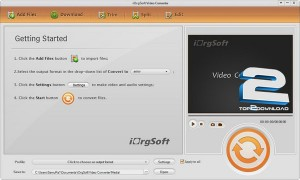 iOrgSoft Video Converter | تاپ 2 دانلود