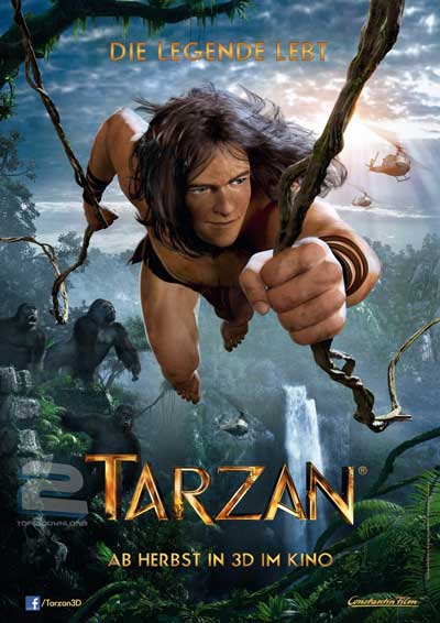 دانلود انیمیشن تارزان Tarzan 2013 | تاپ 2 دانلود