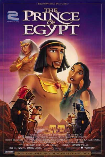 دانلود دوبله فارسی انیمیشن عزیز مصر The Prince of Egypt | تاپ 2 دانلود