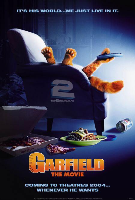 دانلود دوبله فارسی انیمیشن گارفیلد Garfield | تاپ 2 دانلود