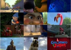 دانلود دوبله فارسی انیمیشن نومئو و ژولیت Gnomeo and Juliet | تاپ 2 دانلود