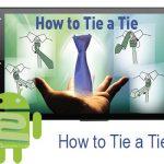 دانلود نرم افزار آموزش گره کراوات How to Tie a Tie 2.5 برای اندروید