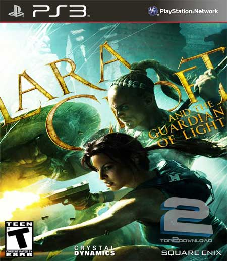 PS3  Lara Croft and the Guardian of Light