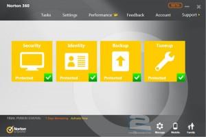 Norton 360 Premier Edition | تاپ 2 دانلود
