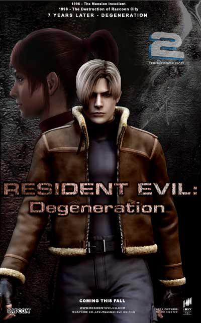 دانلود دوبله فارسی انیمیشن Resident Evil Degeneration | تاپ 2 دانلود