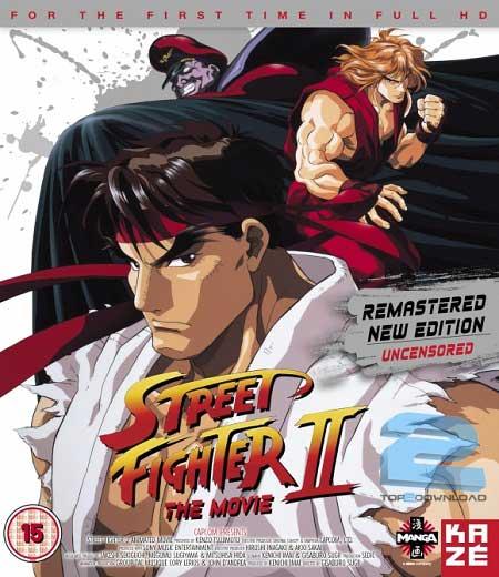 Street Fighter II The Animated Movie 1994   تاپ 2 دانلود