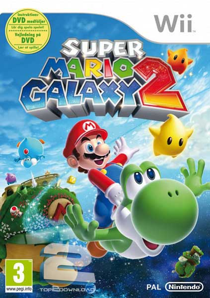 Super Mario Galaxy 2 | تاپ 2 دانلود