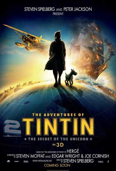 دانلود دوبله فارسی انیمیشن تن تن The Adventures of Tintin   تاپ 2 دانلود