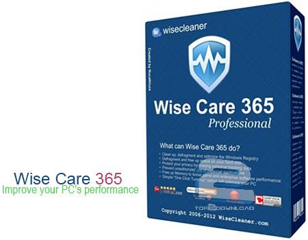 Wise Care 365 Pro | تاپ 2 دانلود