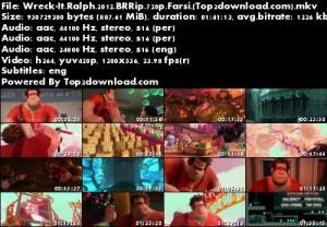 دانلود دوبله فارسی انیمیشن رالف خرابکار Wreck-It Ralph | تاپ 2 دانلود