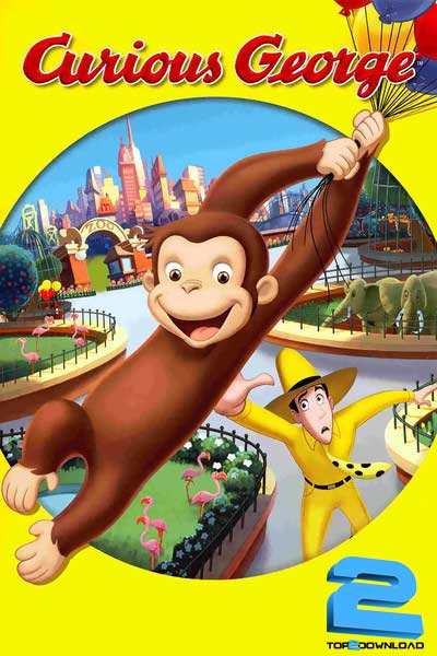 دانلود دوبله فارسی انیمیشن جرج کنجکاو Curious George | تاپ 2 دانلود