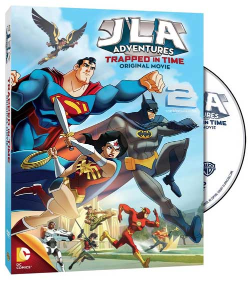 دانلود انیمیشن JLA Adventures Trapped in Time 2014   تاپ 2 دانلود
