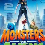دانلود دوبله فارسی انیمیشن هیولاها علیه بیگانگان Monsters vs Aliens