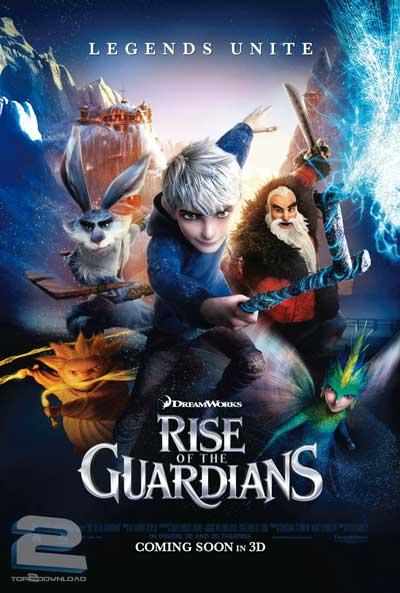 دانلود دوبله فارسی انیمیشن نگهبانان قصه ها Rise of the Guardians | تاپ 2 دانلود