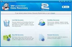 Wondershare Data Recovery | تاپ 2 دانلود