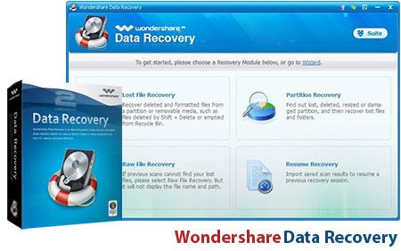 Wondershare Data Recovery | تاپ 2 دانلود