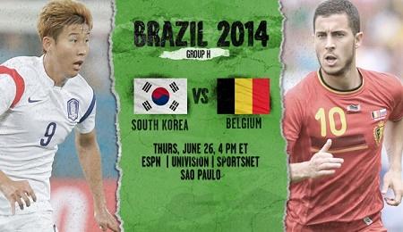 South Korea v Belgium cup 2014 | تاپ2دانلود