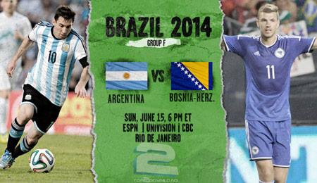 Argentina vs Bosnia World Cup 2014   تاپ 2 دانلود