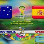 دانلود بازی اسپانیا و استرالیا spain vs australia world cup 2014