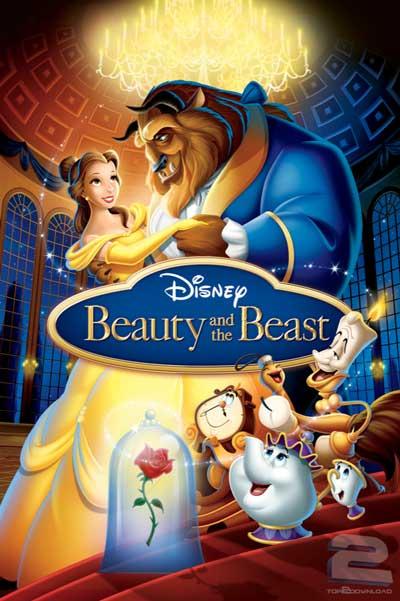دانلود دوبله فارسی انیمیشن دیو و دلبر Beauty and the Beast | تاپ 2 دانلود
