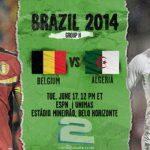 دانلود بازی بلژیک و الجزایر Belgium vs Algeria World Cup 2014