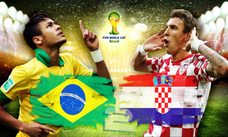 Brazil vs Croatia World Cup 2014 | تاپ 2 دانلود