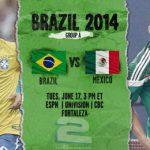 دانلود بازی برزیل و مکزیک Brazil vs Mexico World Cup 2014