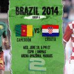 دانلود بازی کامرون و کرواسی Cameroon vs Croatia World Cup 2014