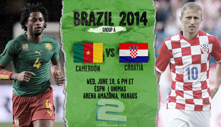 Cameroon vs Croatia World Cup 2014 | تاپ 2 دانلود
