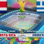 دانلود بازی کاستاریکا و یونان Costa Rica vs Greece World Cup 2014