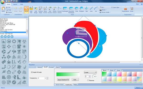 دانلود نرم افزار طراحی لوگو EximiousSoft Logo Designer 3.65EximiousSoft Logo Designer | تاپ 2 دانلود