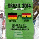دانلود بازی آلمان و غنا Germany vs Ghana World Cup 2014