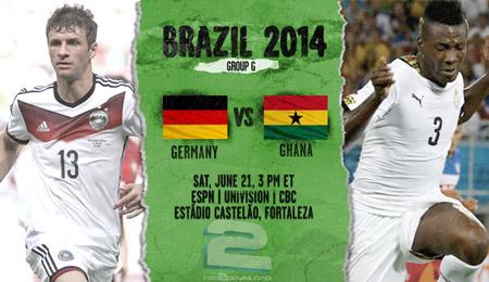 Germany vs Ghana World Cup 2014 | تاپ 2 دانلود