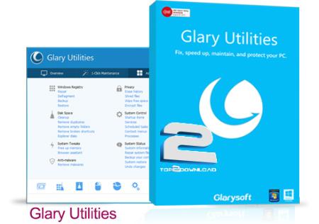 Glary Utilities Pro | تاپ 2 دانلود