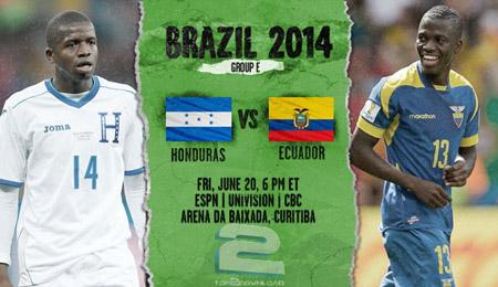 Honduras vs Ecuador World Cup 2014   تاپ 2 دانلود