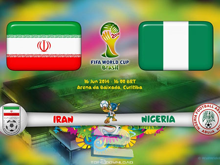 Iran vs Nigeria World Cup 2014 | تاپ 2 داتلود