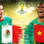 دانلود بازی مکزیک و کامرون Mexico vs Cameroon World Cup 2014