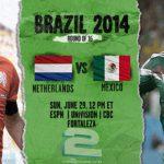 دانلود بازی هلند و مکزیک Netherlands vs Mexico World Cup 2014