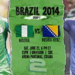 دانلود بازی نیجریه و بوسنی Nigeria vs Bosnia World Cup 2014