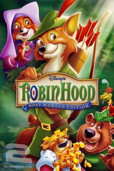 دانلود دوبله فارسی انیمیشن رابین هود Robin Hood   تاپ 2 دانلود