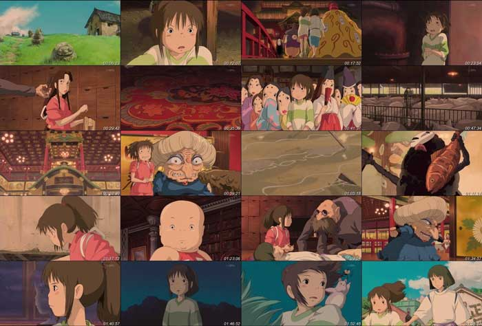 spirited away movie essay