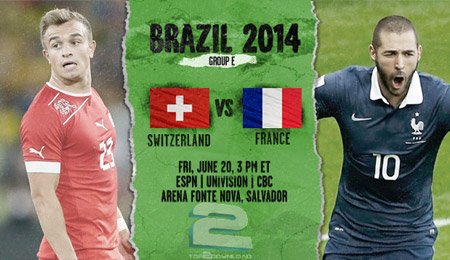 Switzerland vs France World Cup 2014 | تاپ 2 دانلود