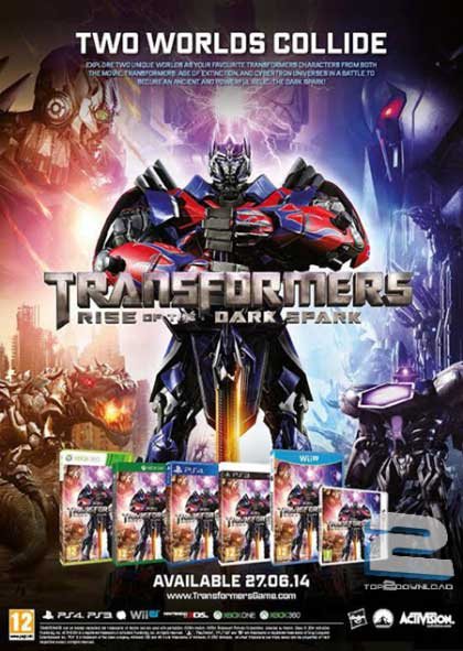 Transformers Rise of The Dark Spark | تاپ 2 دانلود