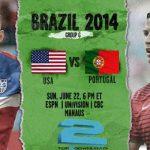 دانلود بازی امریکا و پرتغال USA vs. Portugal World Cup 2014